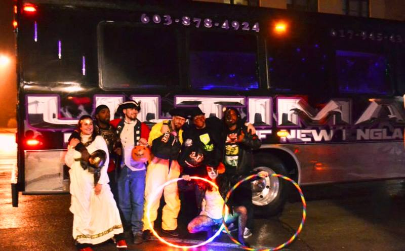 gather all you costumed friends and take an ultimate halloween party bus out for a spooky good time salem massachusetts is a favorite destination for a