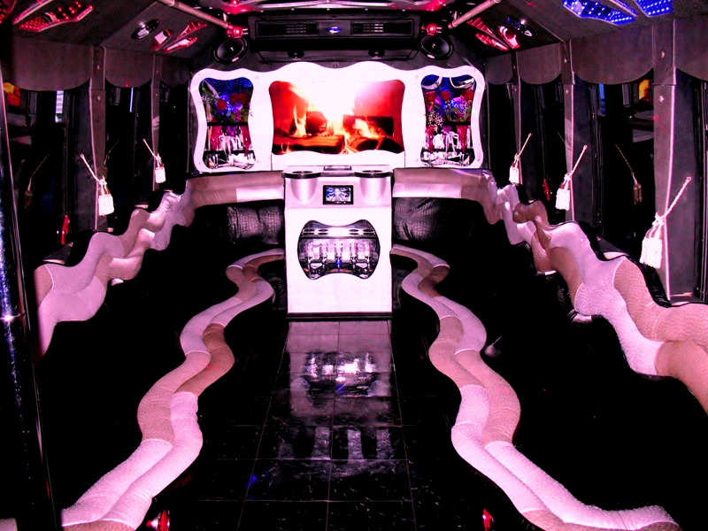 Ultimate 4 Custom Party Bus Interior