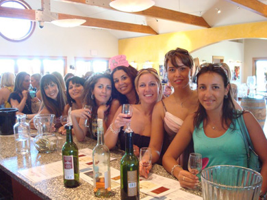 Wine Tour Bachelorette Party