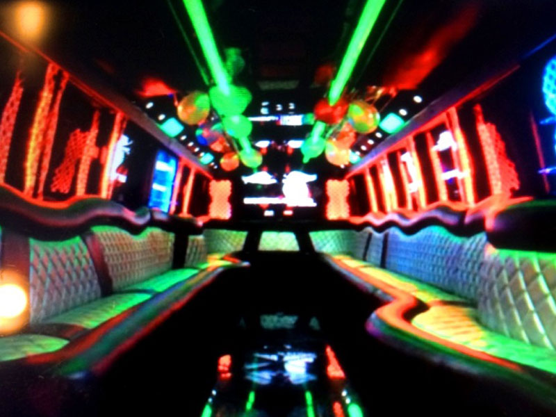 Ultimate 2 Custom Party Bus Interior