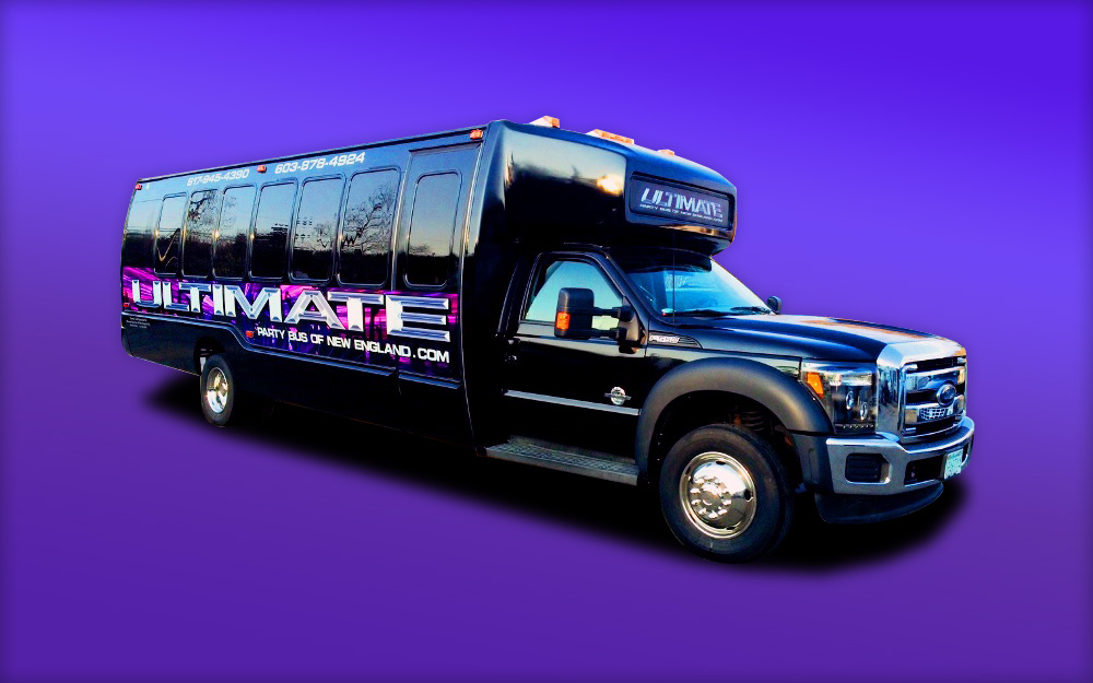 Ultimate 3 Custom Party Bus